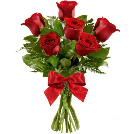 Ramalhete de Charme 6 Rosas