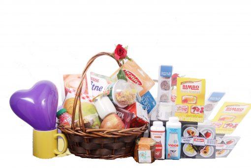 cesta de pequeno almoço portuguesa, cesta de pequeno almoço