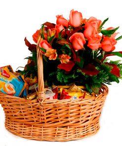 cesta de café da manhã apaixonado, café da manhã, cesta de café da manhã