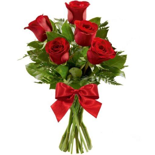 Ramalhete de Charme 5 Rosas
